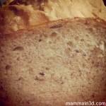Liberiamo una ricetta: il pane fatto in casa con la macchina del pane #liberericette #freearecipe